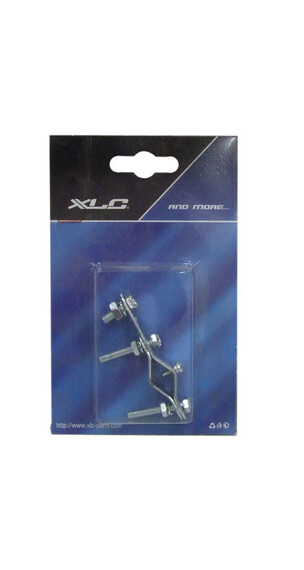 XLC Universal Dynamohalter silber